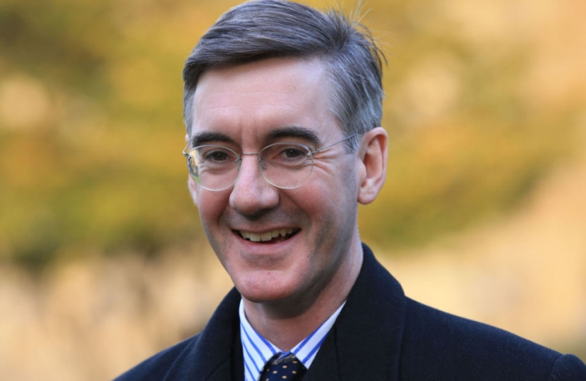 Join Us to Meet and Hear Jacob Rees-Mogg
