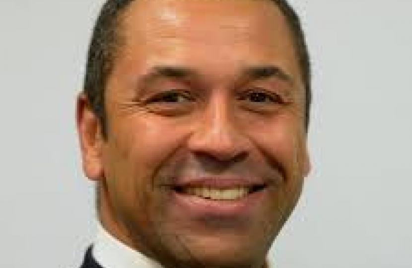 James Cleverly MP, Deputy Chairman of the Conservative Party.