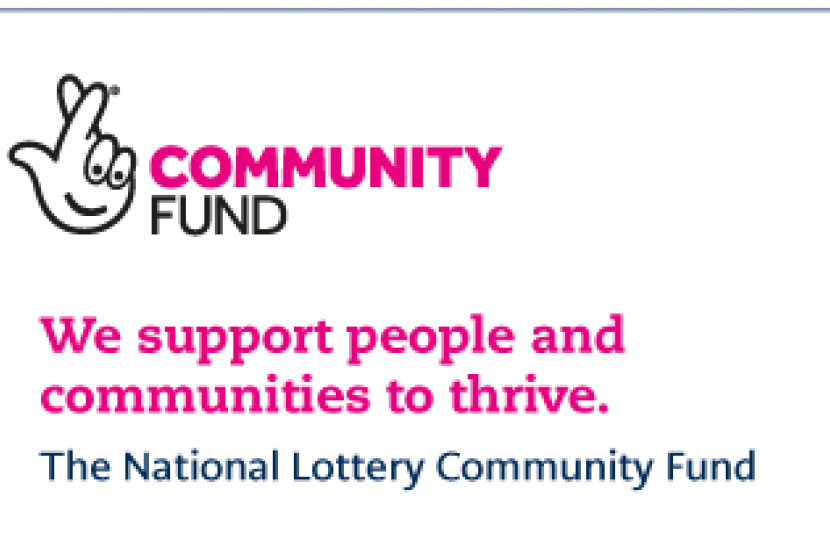 National Lottery Community Fund Update